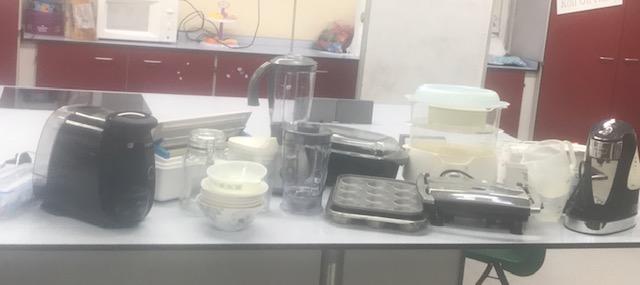 Elmwood School donates to Wilson Stuart Food room