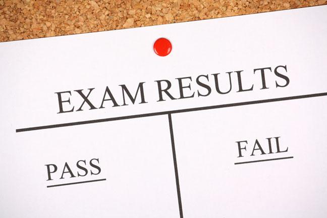 Missing Exam Results