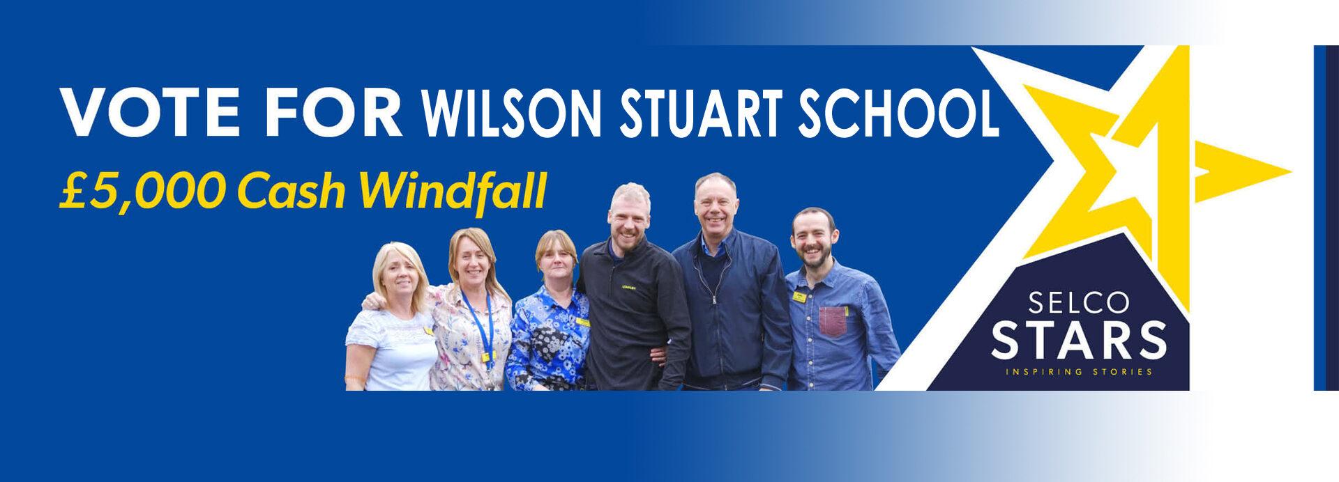 Selco Stars Vote for Wilson Stuart School